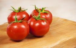 Fresh tomatoes Stock Photo