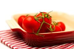 Fresh tomatoes Stock Photos