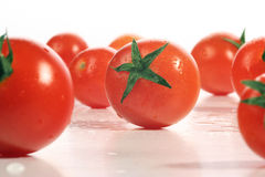 Fresh tomatoes. Cocktail tomatoes at its best Stock Images