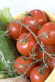 Fresh tomatoes cherry Stock Image