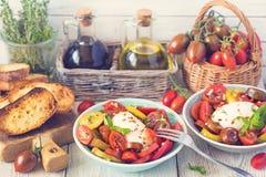 Fresh tomatoes salad. Stock Image