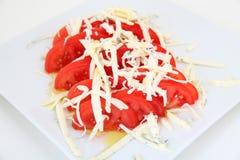 Fresh tomatoes salad Royalty Free Stock Photos