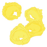 Fresh Tortellini. Royalty Free Stock Photos