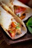 Fresh tortillas Stock Photography