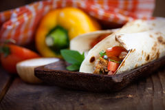 Fresh tortillas Royalty Free Stock Photo