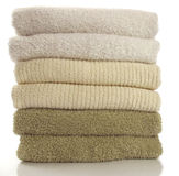 Fresh towels Stock Images