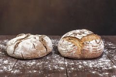 Fresh traditional bread Stock Photo