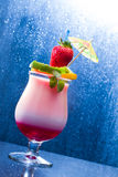 Fresh tropical cocktail Royalty Free Stock Photos