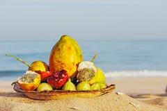 Fresh tropical fruit Royalty Free Stock Photos