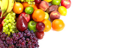 Fresh tropical fruits. royalty free stock photography