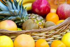 Fresh Tropical Fruits Royalty Free Stock Images