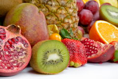 Fresh tropical fruits Royalty Free Stock Photo