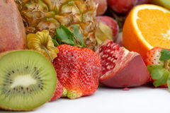Fresh tropical fruits Royalty Free Stock Photography