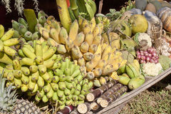 Fresh tropical fruits Stock Photography