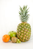 Fresh Tropical Healthy Fruit. With white background Stock Photo