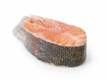 Fresh trout steak Stock Photos