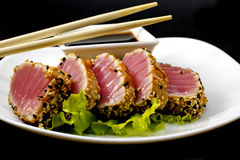 Fresh tuna fillet Royalty Free Stock Photography