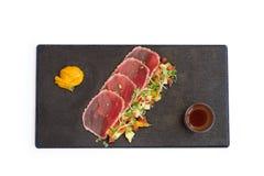 Fresh tuna fish salad Stock Images