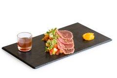 Fresh tuna fish salad Stock Image