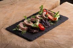Fresh Tuna Salad Stock Photo
