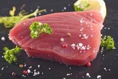 Fresh tuna steak Royalty Free Stock Images