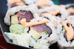Fresh Tuna Sushi Royalty Free Stock Image