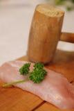 Fresh turkey breast stock photo