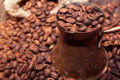 Fresh Turkish Coffee Stock Photos