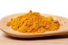Fresh  turmeric powder Stock Photography