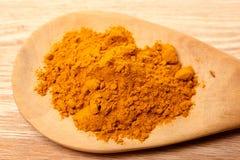 Fresh  turmeric powder Royalty Free Stock Image