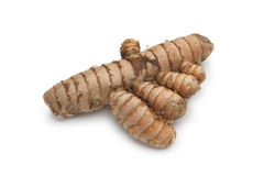 Fresh Turmeric root Stock Photo