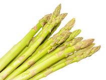 Fresh Uncooked Asparagus Tips Royalty Free Stock Photos