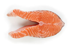 Fresh uncooked red fish fillet Royalty Free Stock Images