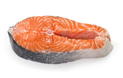 Fresh uncooked red fish fillet Stock Image