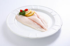 Fresh uncooked red fish Stock Image