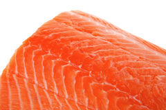 Fresh uncooked salmon fillet Royalty Free Stock Images
