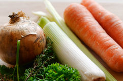 Fresh uncooked vegetables Stock Photos
