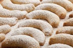 Fresh Vanilla Cookies Royalty Free Stock Images