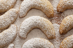 Fresh Vanilla Cookies Stock Image