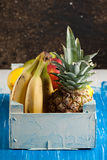 Fresh various fruits Royalty Free Stock Photo