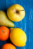 Fresh various fruits Royalty Free Stock Image