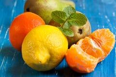 Fresh various fruits Royalty Free Stock Photography