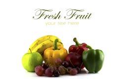 Fresh various fruits. Royalty Free Stock Photo
