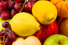 Fresh various fruits Royalty Free Stock Photo