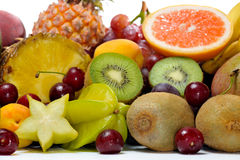 Fresh various fruits Stock Photos