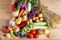 Fresh various raw vegetable Stock Images
