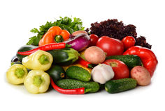 Fresh various vegetables Royalty Free Stock Photography