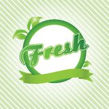 Fresh. Vector ecological concept for you design. Royalty Free Stock Photography