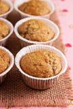 Fresh vegan banana muffins Stock Photo