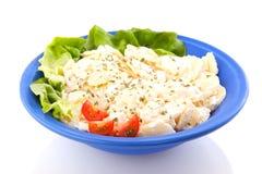 Fresh vegan potato salad Royalty Free Stock Image